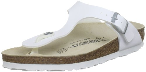 Birkenstock Gizeh 843893, Unisex - Erwachsene Sandalen/Zehentrenner aus Birko-Flor