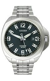 Citizen Men's NB0070-57E Grand Touring Signature Mechanical Sapphire Crystal Watch