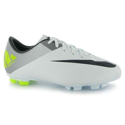 Nike Mercurial Victory II FG Junior Football Boots Trace/Cybr/Vlt 4 UK UK