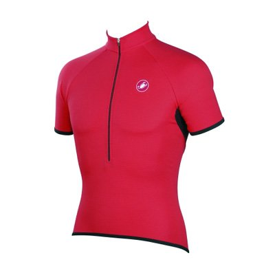 Buy Low Price Castelli 2008 Partenza Cycling Jersey – Red – A7007-023 (B000MSKBAE)