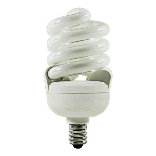 TCP 4T213C-41 - 13 Watt CFL Light Bulb - Compact Fluorescent - - 60 W Equal - 4100K Cool White - Min. Start Temp. -20 Deg. F - 82 CRI - 63 Lumens per Watt - 2 Year Warranty