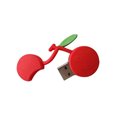 Microware Cherry ShMicroware 16GB Pen Drive (Red)