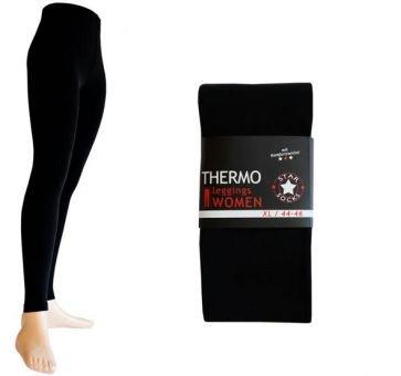 2 Stück Thermo-Legging in Schwarz Gr.M