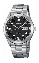 Seiko Men's Titanium watch #SGG711
