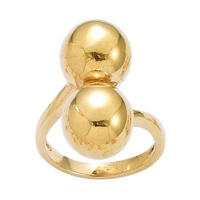 18K Gold Plated 2 Balls