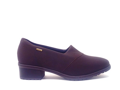 ARA SHOES DONNA MOCASSINO TESSUTO STRETCH GORETEX MARRONE TAGLIA 5