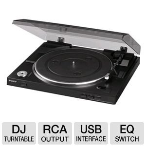 Sony Fully Automatic Stereo Turntable Plus 100