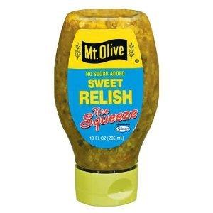 Mt. Olive No Sugar Sweet Relish Squeeze - 10 Fl Oz (Pickle Relish Sugar Free compare prices)