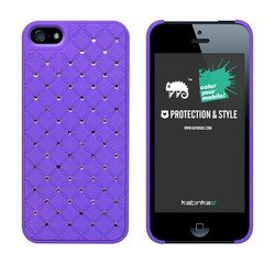 Best Price Katinkas USA 2108047123 Hard Cover for iPhone 5 - Royal - 1 Pack - Retail Packaging - Purple