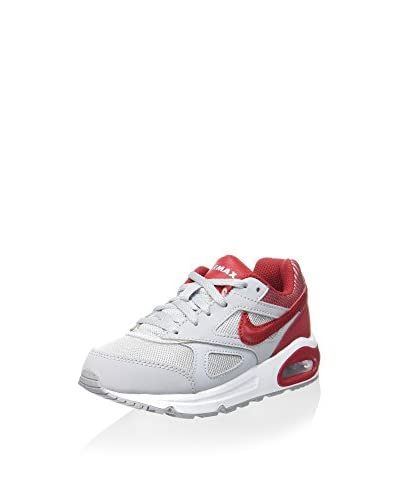 Nike Sneaker Air Max Ivo (Ps)  [Bianco/Rosso]