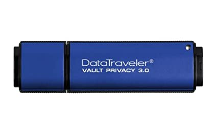 Kingston-DataTraveler-Vault-Privacy-16GB-Pen-Drive-(Blue)