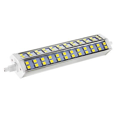 Dimmable R7S 15W 72X5050Smd 864Lm 6000-6500K Cool White Light Led Corn Bulb(Ac 110-130V)