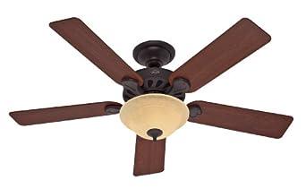 Hunter 23723 52-Inch Five-Minute Ceiling Fan, New Bronze