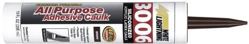 white-lightning-products-810-3006-siliconized-all-purpose-acrylic-latex-adhesive-caulk-brown-by-whit