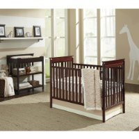 Sadie & Scout 3 Piece Crib Bedding Set Zahara Khaki Brown Elephant Zebra Print