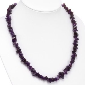 Amethyst and Silver Necklace 17