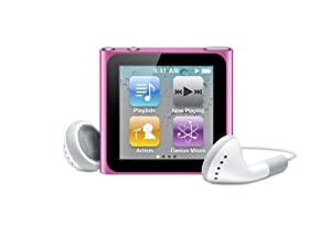 Apple iPod nano 16 GB Pink (6th Generation) OLD MODEL
