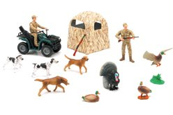 Amazon.com: Wild Bird Hunting Playset - Duck and Turkey Hunting: Toys