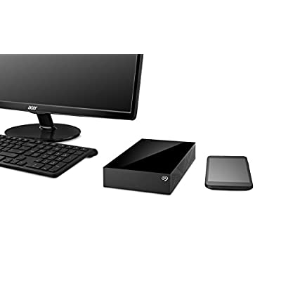 Seagate Backup Plus 2TB Desktop External Hard Drive with Mobile Device Backup USB 3.0