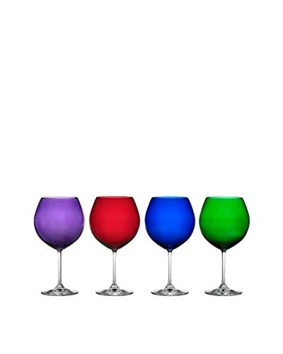 Waterford Marquis Set Of 4 Vintage Collection Jewels Balloon Wine Glass, Multi