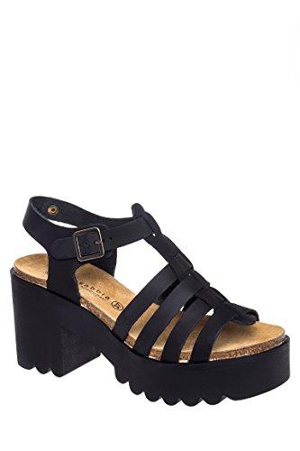 Callista Casual Mid-Heel Sandal