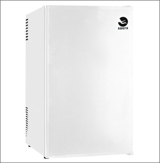 ROBUSTA - Réfrigérateur de table SUPER COOLING 70L - Blanc