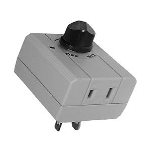 ac plug in dimmer switch spst on off 30 10194 outdoor dimmer. Black Bedroom Furniture Sets. Home Design Ideas