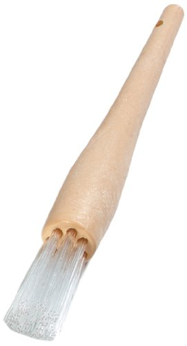 "Carlisle 4011500 Teflon Waffle Iron Round Brush, Teflon Bristle, 1"" Bristle Width X 2"" Bristle Trim, 9-1/2"" Overall Length front-403919"