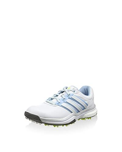 adidas Zapatillas Adipower Boost 2 Blanco / Azul / Lima
