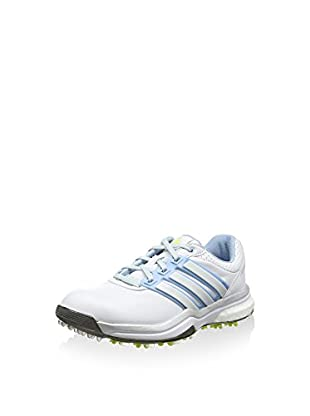 adidas Zapatillas Adipower Boost 2 (Blanco / Azul / Lima)