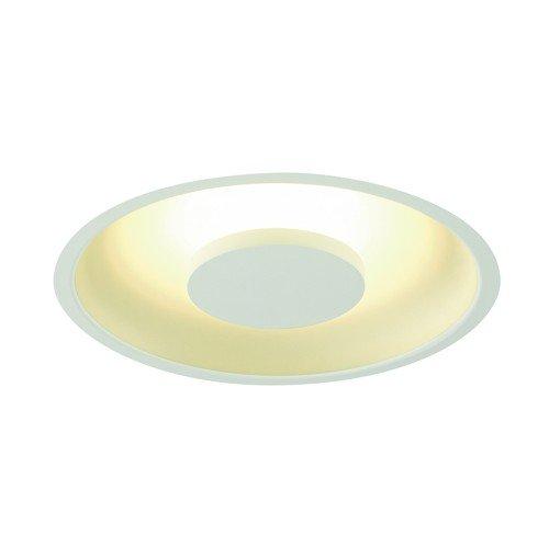 SLV LED Deckeneinbauleuchte Occuldas, rund, weiß, 22W, SMD, 120 Grad, 3000K, inklusiv Treiber, Clipfedern 117311