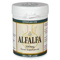 Natures Own Cytoplan Alfalfa High in Vitamin K - 120 x 500mg Vegicaps