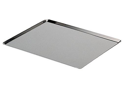 de-buyer-336140-plaque-rectangulaire-inox-bords-pinces-40-x-30-cm