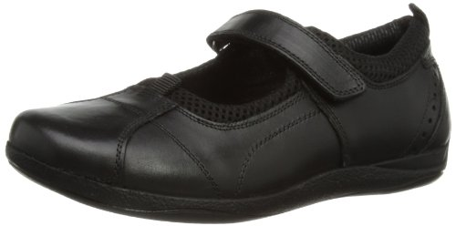 Hush Puppies Girls Cindy Mary Jane Flats H32134000 Black 11 UK Child, 29 EU
