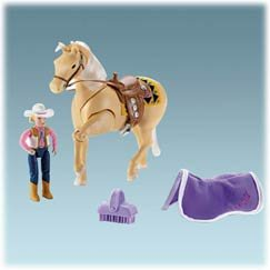 Fisher Price Loving Family Aspen Gold Western Horse & Person - Buy Fisher Price Loving Family Aspen Gold Western Horse & Person - Purchase Fisher Price Loving Family Aspen Gold Western Horse & Person (Loving Family, Toys & Games,Categories,Dolls,Playsets)