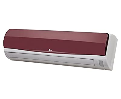 LG LSA5WT5D L-Energia Split AC (1.5 Ton, 5 Star Rating, Wine Red)