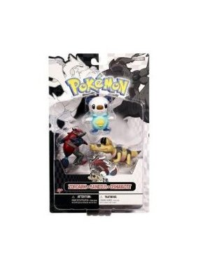 Buy Low Price Jakks Pacific Pokemon Black White Series 1 Basic Figure 3Pack Zoroark, Sandile Oshawott (B004YHI3IQ)