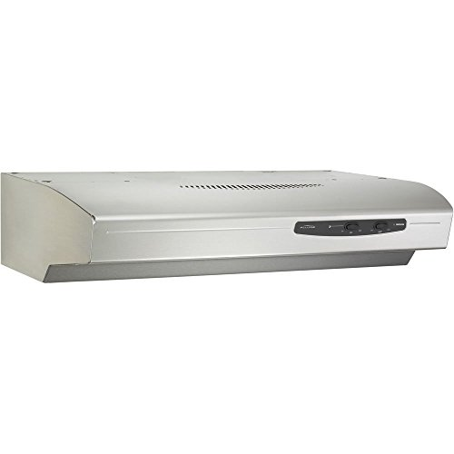 Broan QS136SS Allure Range Hood, 36-Inch, Stainless steel (Allure Hood Range compare prices)
