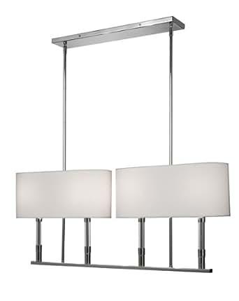 Carlton 4 light kitchen island pendant ceiling pendant for Kitchen spotlights amazon
