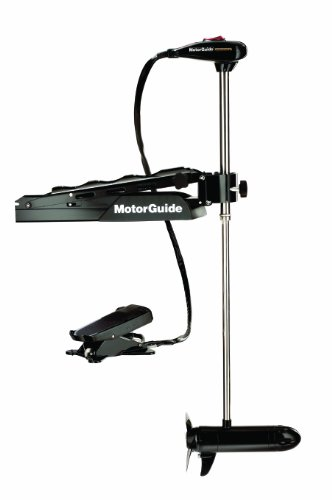 MotorGuide Tour Edition 24-Volt Freshwater Foot/Bow Trolling Motor with Lowrance Transducer, 75-Pound Thrust, 45-Inch Shaft, 20.8 Mount