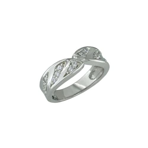 Fanise   size 9.50 14K White Gold Diamond Ring Jewelry