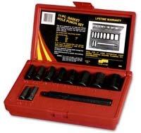 A & E Hand Tools 950 Gasket Hole Punch Set - 11 Piece