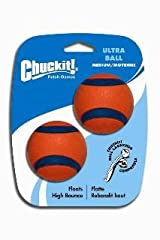 Chuckit! ULTRA BALLS Medium Dog Toy 2 Pack Fits Regular Launcher