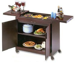 Hostess HL6232DB Connoisseur console, mahogany