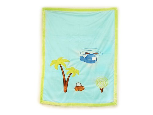 Colorful Sweet Baby Blanket (LIGHT BLUE)