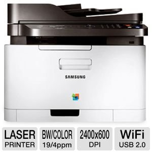 Samsung Electronics CLP-3305FW Wireless Color Printer with Scanner, Copier and Fax