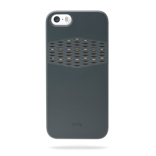 Great Price The Pong Case for iPhone 5s, Charcoal Black with Gold Reveal
