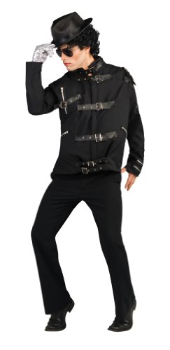 Michael Jackson Deluxe Bad Buckle Jacket Costume