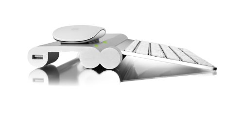 Mobee Technology The Magic Feet 【ワイヤレス充電】 for Apple Wireless Keyboard / Magic Trackpad / Apple Magic Mouse マジックマウス/キーボード/マジックトラックパッド MO4212