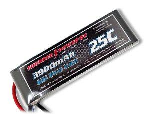 3900mAh 2S 7.4V G6 Pro Lite 25C LiPo